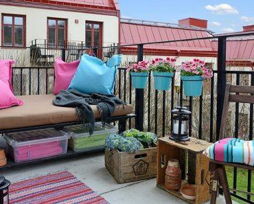 balkon dekoru